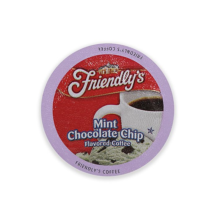 Alternate image 1 for Friendly's 18-Count  Mint Chocolate Chip Coffee for Single Serve Coffee Makers