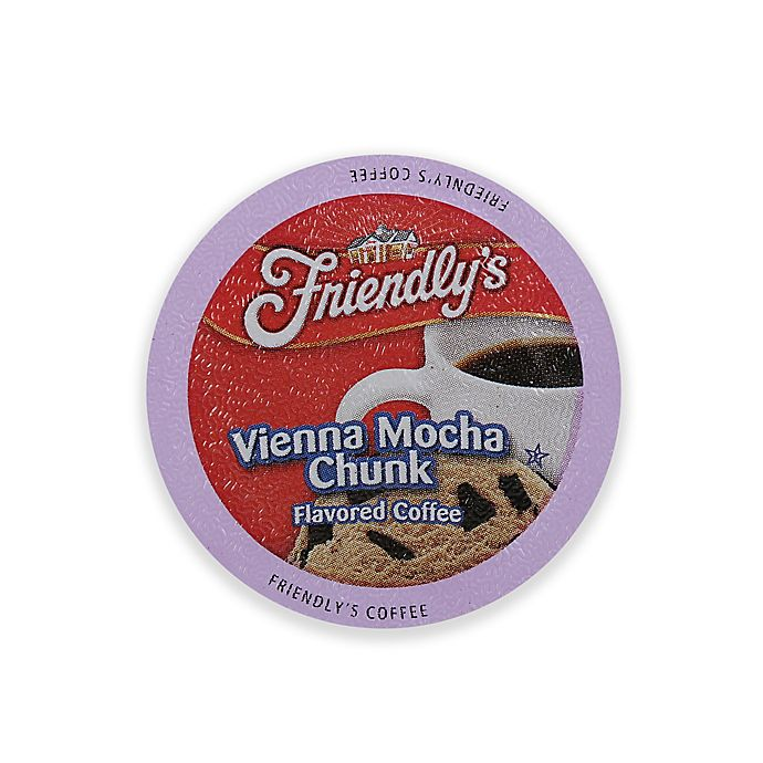 Alternate image 1 for Friendly's 18-Count Vienna Mocha Chunk Coffee for Single Serve Coffee Makers