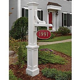 Mayne Woodhaven Address Sign Post
