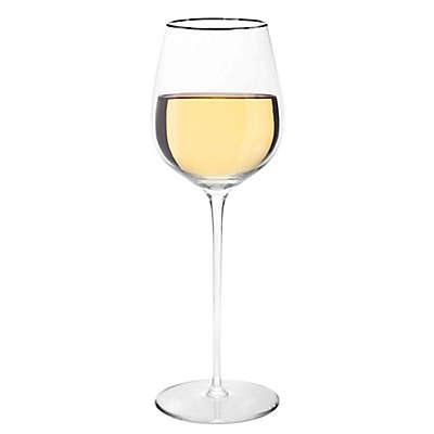 Olivia & Oliver Madison Platinum White Wine Glasses (Set of 4)