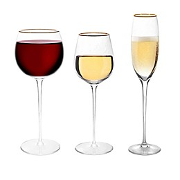 Olivia & Oliver® Madison Gold Wine Glass Collection