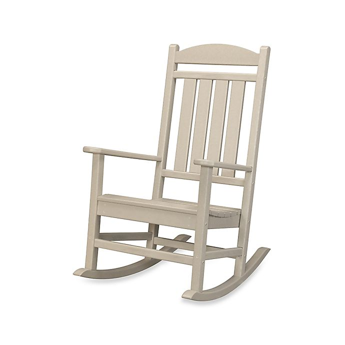 Alternate image 1 for POLYWOOD® Presidential Rocker in Sand