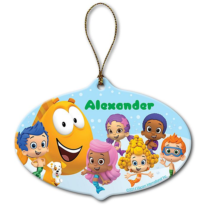 Alternate image 1 for Bubble Guppies Group Christmas Ornament
