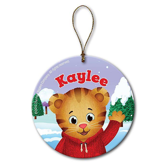Alternate image 1 for PBS Kids Daniel Tiger's Neighborhood™ Christmas Ornament