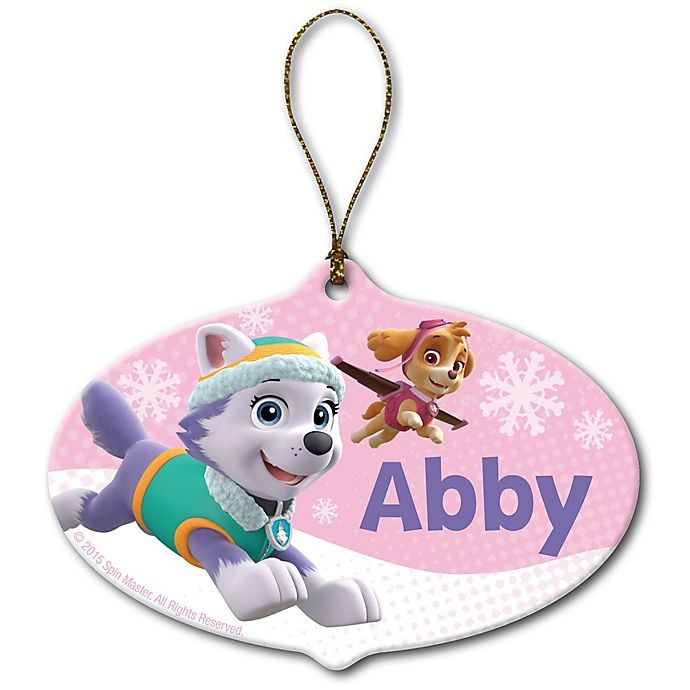 Alternate image 1 for Nickelodeon™ PAW Patrol™ Skye and Everest Christmas Ornament