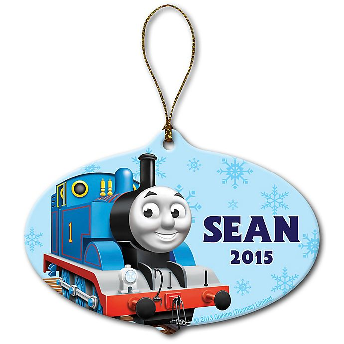Alternate image 1 for PBS Kids Thomas & Friends™ Snowflake Christmas Ornament