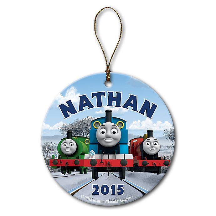 Alternate image 1 for PBS Kids Thomas & Friends™ Winter Fun Christmas Ornament