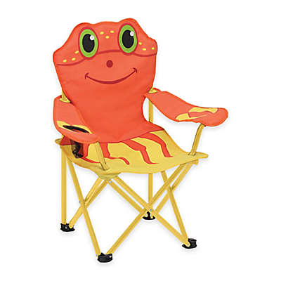 Melissa and Doug Crab Folding Chair in Orange/Yellow