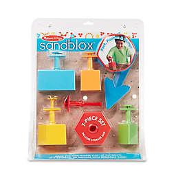 Melissa and Doug® 7-Piece Sandbox Set