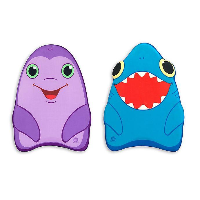 Alternate image 1 for Melissa and Doug® Dolphin/Shark Kickboard Pool Toy (Set of 2)