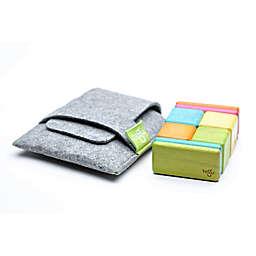 Tegu 8-Piece Pocket Pouch Magnetic Wooden Block Set