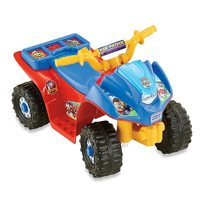 Alternate image 1 for Fisher-Price® Power Wheels® Nickelodeon™ PAW Patrol™ Lil Quad™