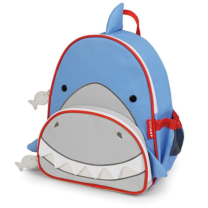 Alternate image 1 for SKIP*HOP® Shark Zoo Little Kid Backpack