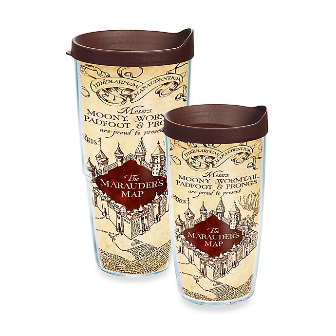 Alternate image 1 for Tervis® Harry Potter™ Marauders Map Wrap Tumbler with Lid