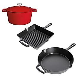 Artisanal Kitchen Supply® Pre-Seasoned Cast Iron Open Stock Cookware