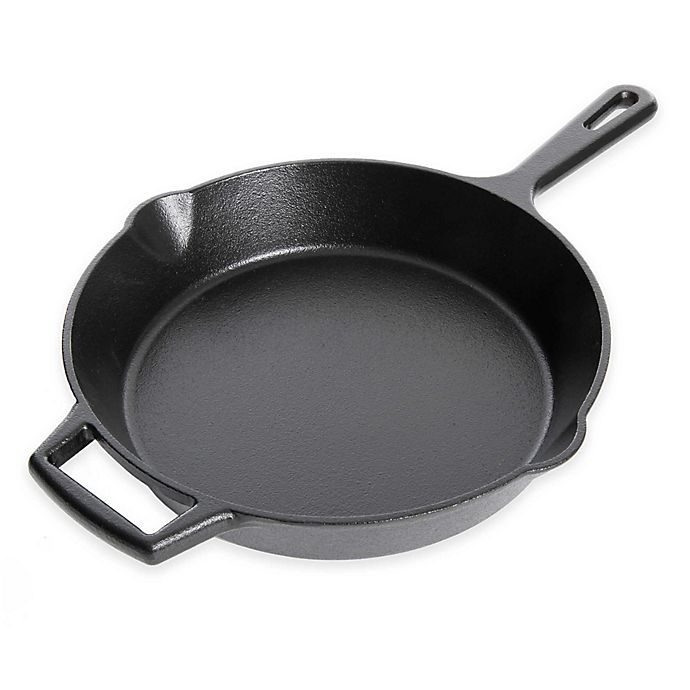 Alternate image 1 for Artisanal Kitchen Supply® 10-Inch Pre-Seasoned Cast Iron Skillet