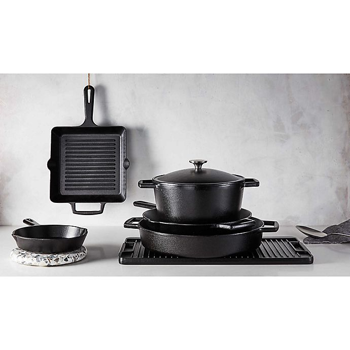 Alternate image 1 for Artisanal Kitchen Supply® Pre-Seasoned Cast Iron Open Stock Cookware