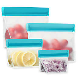 re(zip)™ Volume Travel Storage Bags in Aqua