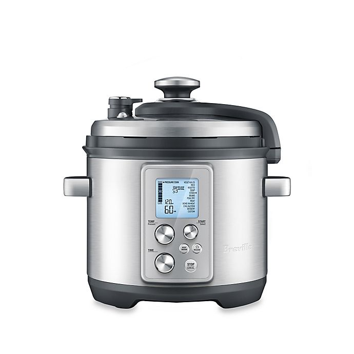 Alternate image 1 for Breville® Fast Slow Pro™ 6 qt. Multi Cooker