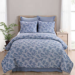 Your Lifestyle by Donna Sharp Amadora 3-Piece King Comforter Set in Soft Blue