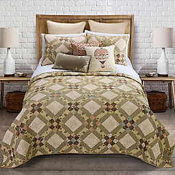 Donna Sharp Victorian Beauty 3-Piece Quilt Set