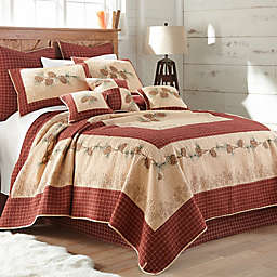 Donna Sharp® Pine Lodge Full/Queen Quilt in Brown
