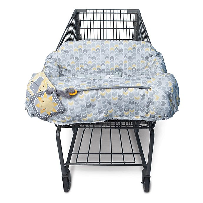 Alternate image 1 for Boppy® Shopping Cart Cover in Sunshine