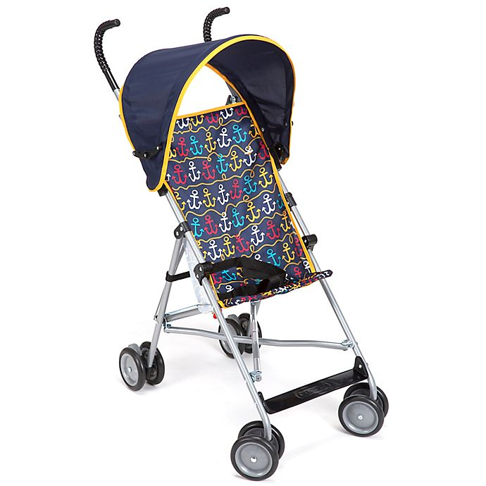 Cosco 174 Umbrella Stroller With Canopy In Anchors Away