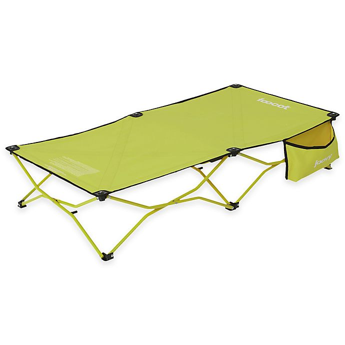 Alternate image 1 for Joovy® Foocot Portable Child Cot in Greenie