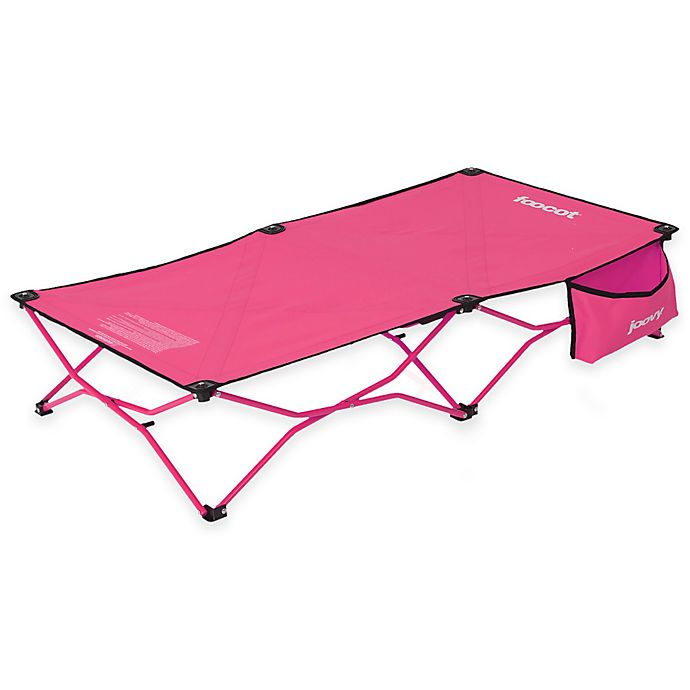 Alternate image 1 for Joovy® Foocot Portable Child Cot in Pink