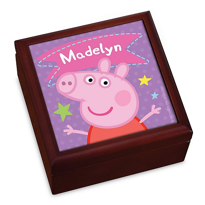 Alternate image 1 for Peppa Pig™ Super Star Keepsake Box