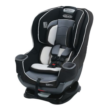 Graco Extend2fit Convertible Car Seat With Cover In Grey