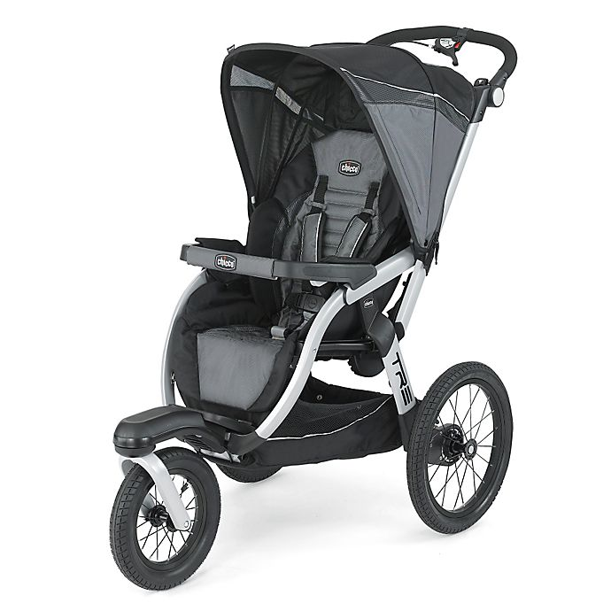 Alternate image 1 for Chicco® Tre™ Jogging Stroller in Titan