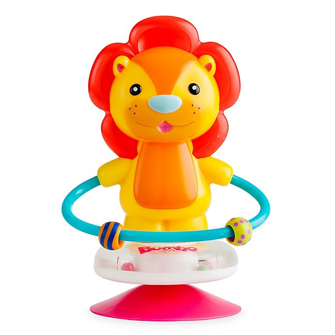 Alternate image 1 for Bumbo Luca Lion Suction Toy in Blue
