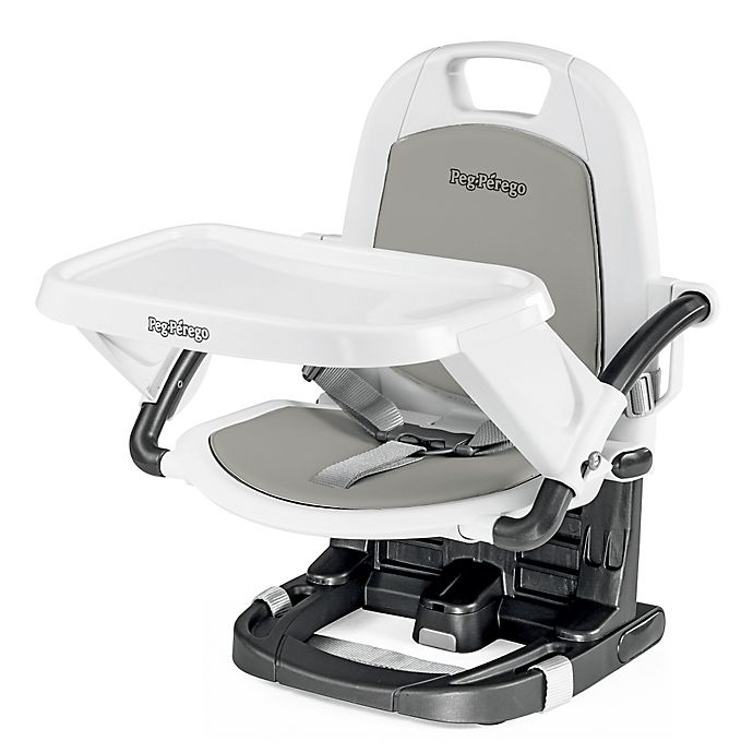 Alternate image 1 for Peg Perego Rialto Booster Chair in Ice