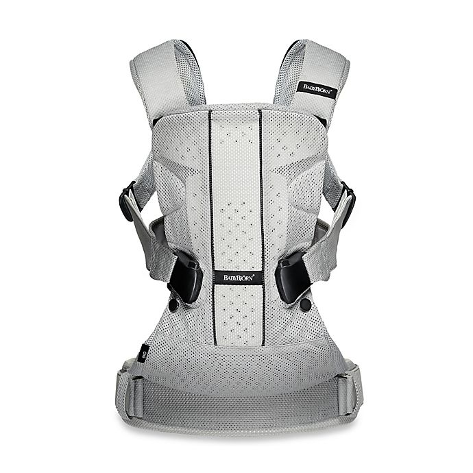30f126821c2 BABYBJORN® Baby Carrier One Air in Silver Mesh
