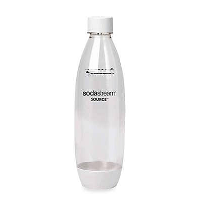 sodastream® 1-Liter Carbonating Bottle in White (Set of 2)