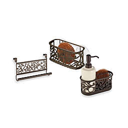 InterDesign® Vine Kitchen Organizer Collection in Bronze