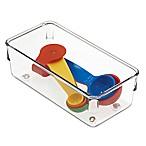iDesign® Linus Acrylic 3-Inch x 6-Inch Drawer Organizer