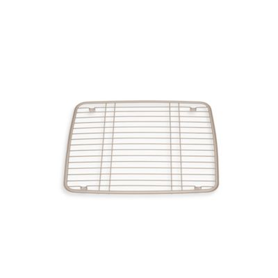 Interdesign 174 Kitchen Sink Protector Grid Mat In Satin