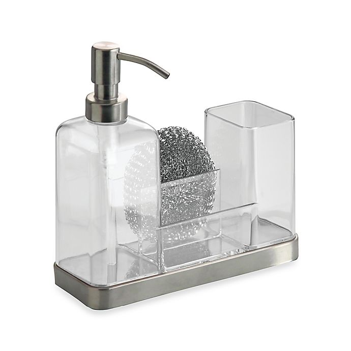 Alternate image 1 for InterDesign® Forma Soap & Brush Caddy