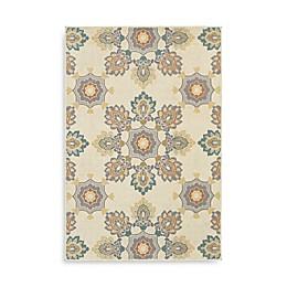 Oriental Weavers Hampton Floral Rug in Ivory