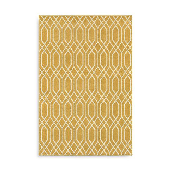 Alternate image 1 for Oriental Weavers Hampton Geometric 7-Foot 10-Inch x 10-Foot Area Rug in Gold