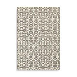 Oriental Weavers Hampton Floral Geometric Rug in Grey