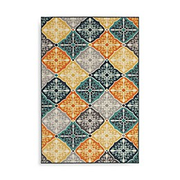 Oriental Weavers Hampton Tiles Multicolor Area Rug