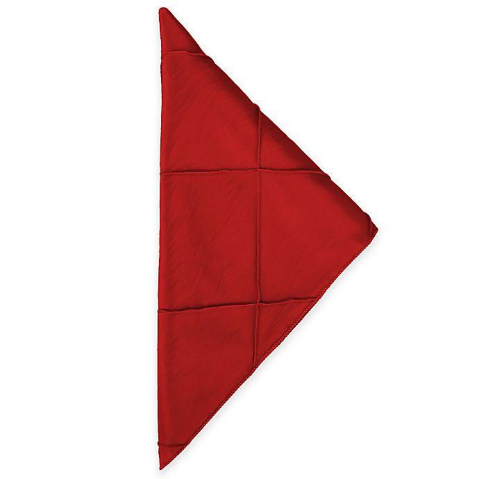 Alternate image 1 for Bombay Napkins in Red (Set of 4)