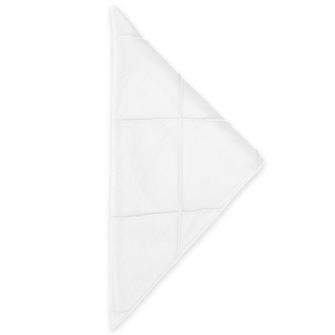 Alternate image 1 for Bombay Napkins in White (Set of 4)