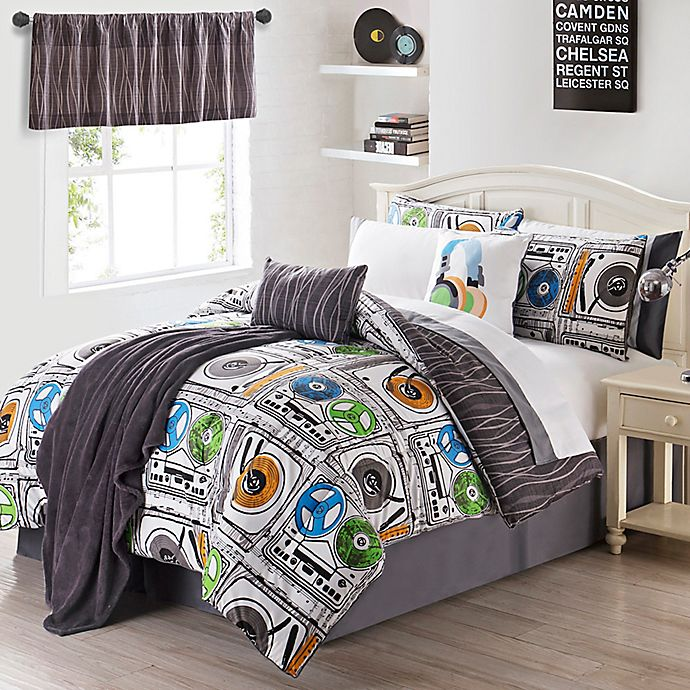 Alternate image 1 for VCNY 11-13 Piece Turn It Up Comforter Set