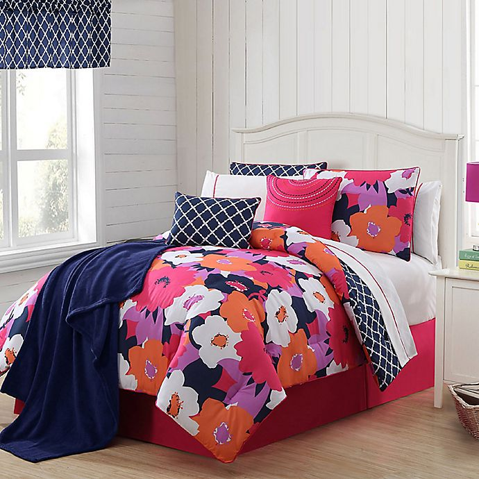 Alternate image 1 for VCNY 11-13 Piece Taylor Reversible Comforter Set