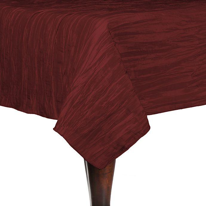 Alternate image 1 for Delano 50-Inch Square Tablecloth in Burgundy